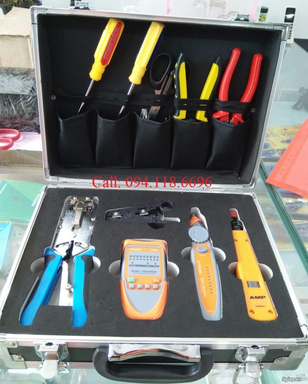 Bộ dụng cụ làm mạng TE-NetLink K-507 - 4