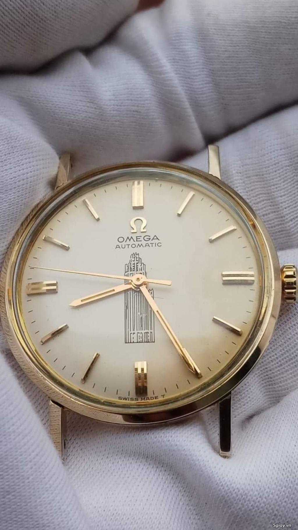 Đồng Hồ Vàng Omega Vintage dòng Seamaster - 3