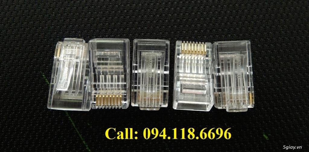 Đầu bấm hạt mạng RJ45 Cat6 Commscope mã 5-554720-3 có sẵn hàng - 8