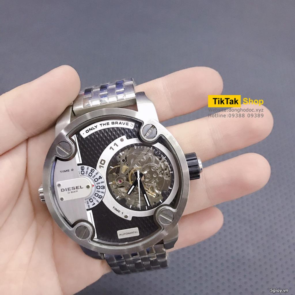 Đồng hồ Patek, Longines, IWC, AP, Omega, Rolex Automatic Replica 1:1