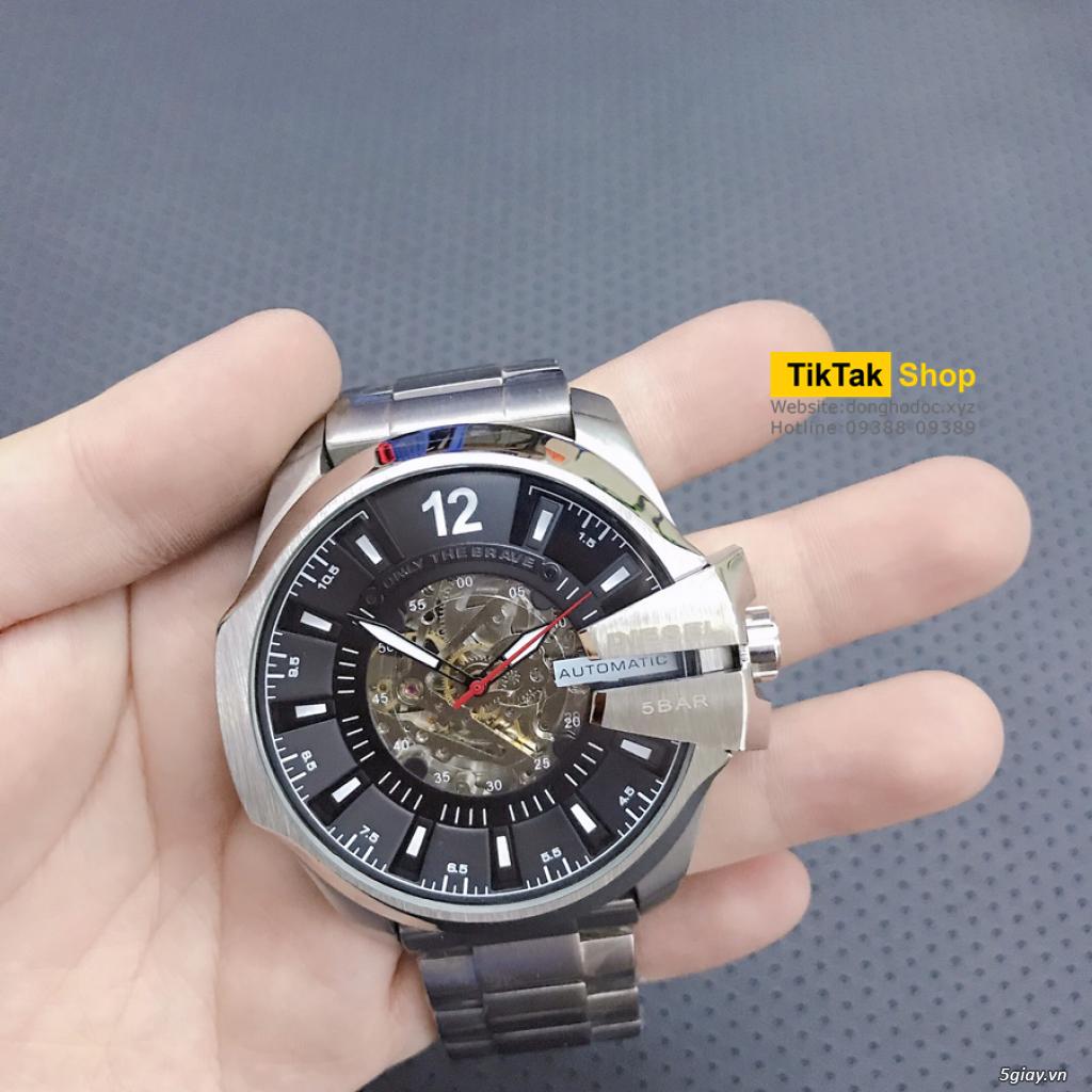 Đồng hồ Patek, Longines, IWC, AP, Omega, Rolex Automatic Replica 1:1 - 2
