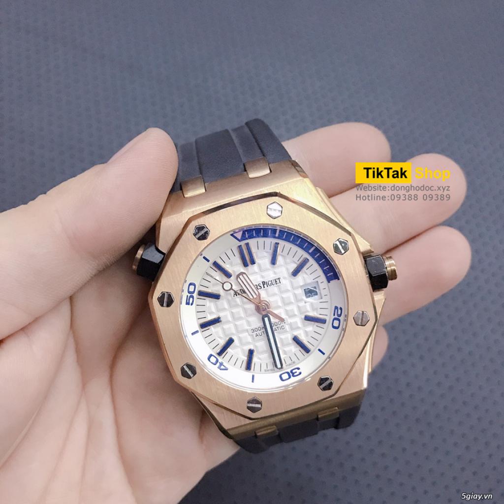 Đồng hồ Patek, Longines, IWC, AP, Omega, Rolex Automatic Replica 1:1 - 5