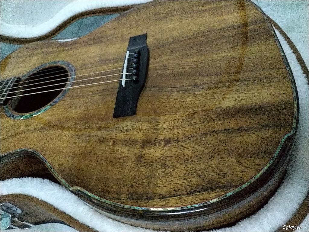 Bán đàn guitar Anguitar - OM450 (Full Koa Hawaii) - 5