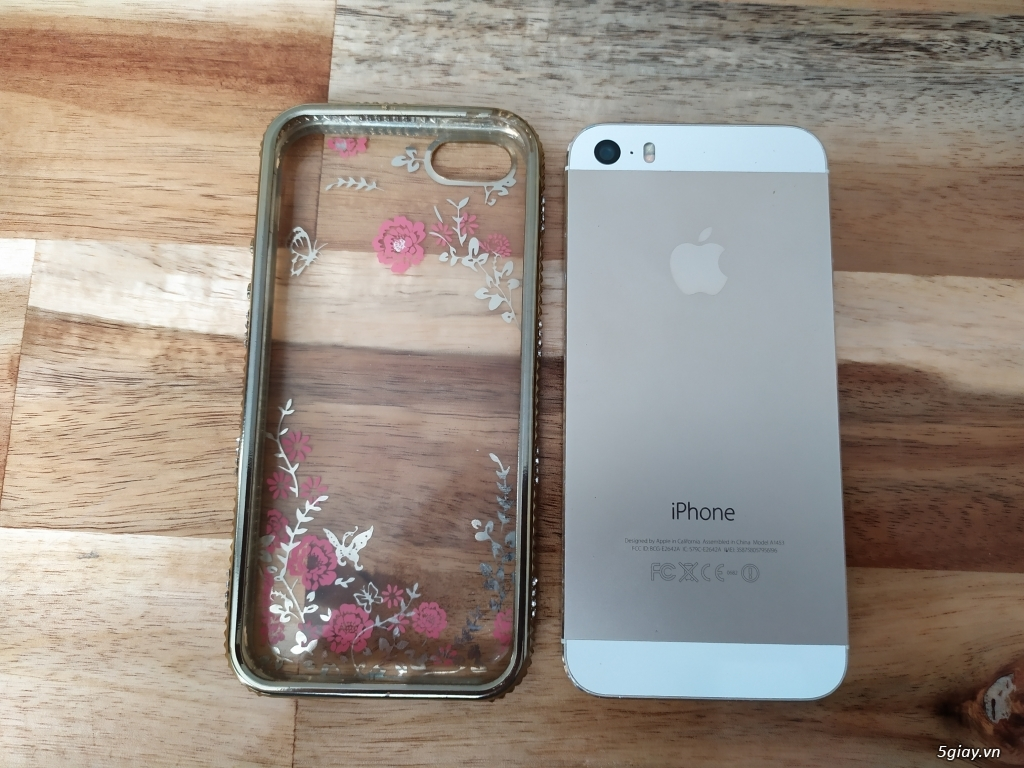 iPhone 5s lock vàng 64gb lên iccd như quốc tế - 3