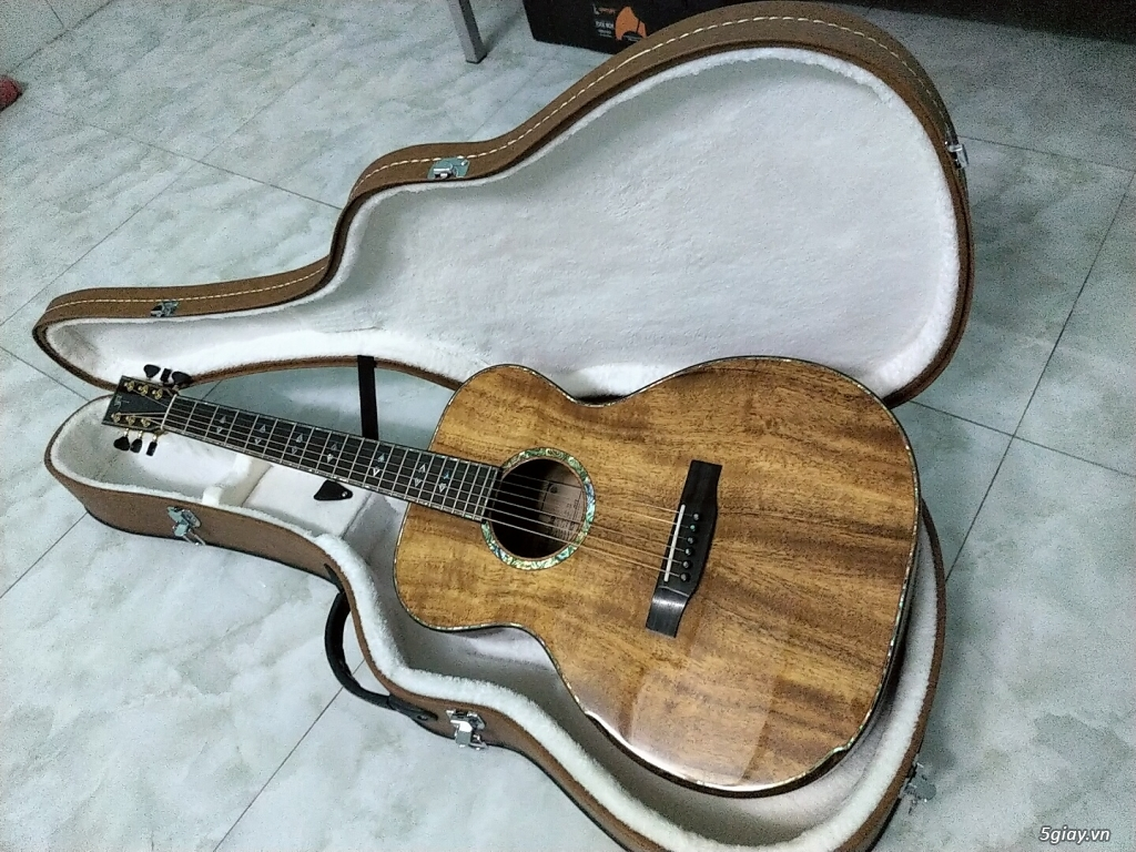 Bán đàn guitar Anguitar - OM450 (Full Koa Hawaii)
