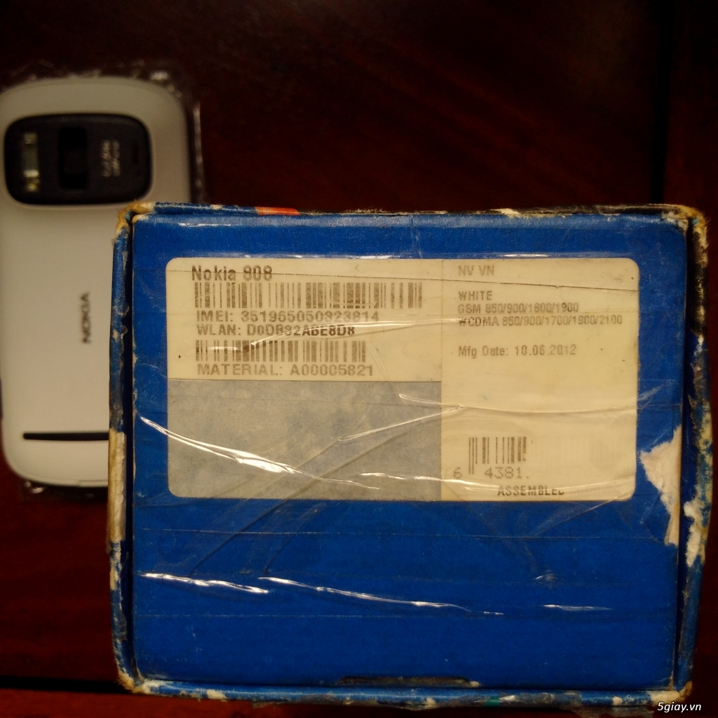Nokia 808 Pureview Fullbox - 9