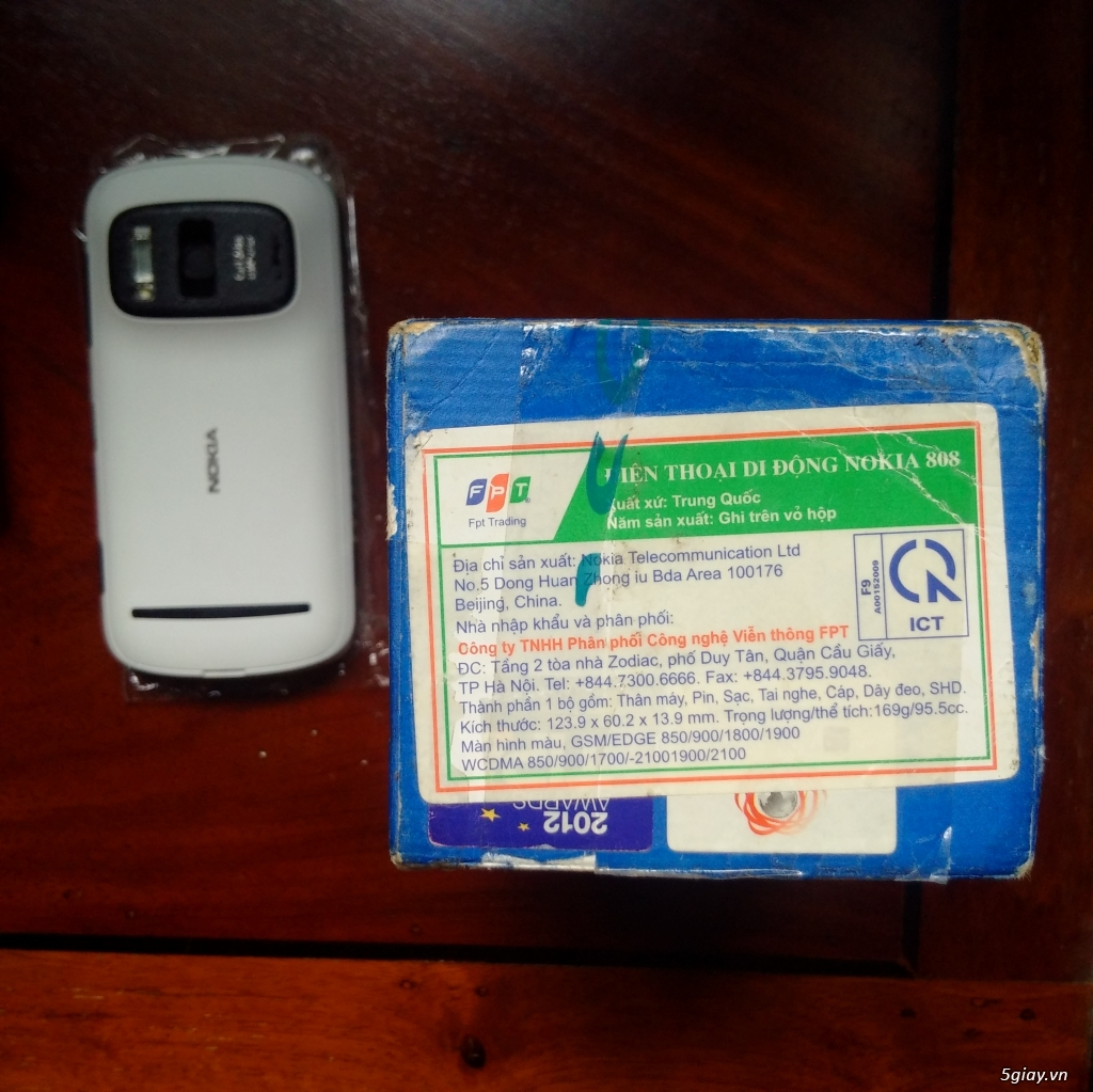 Nokia 808 Pureview Fullbox - 10