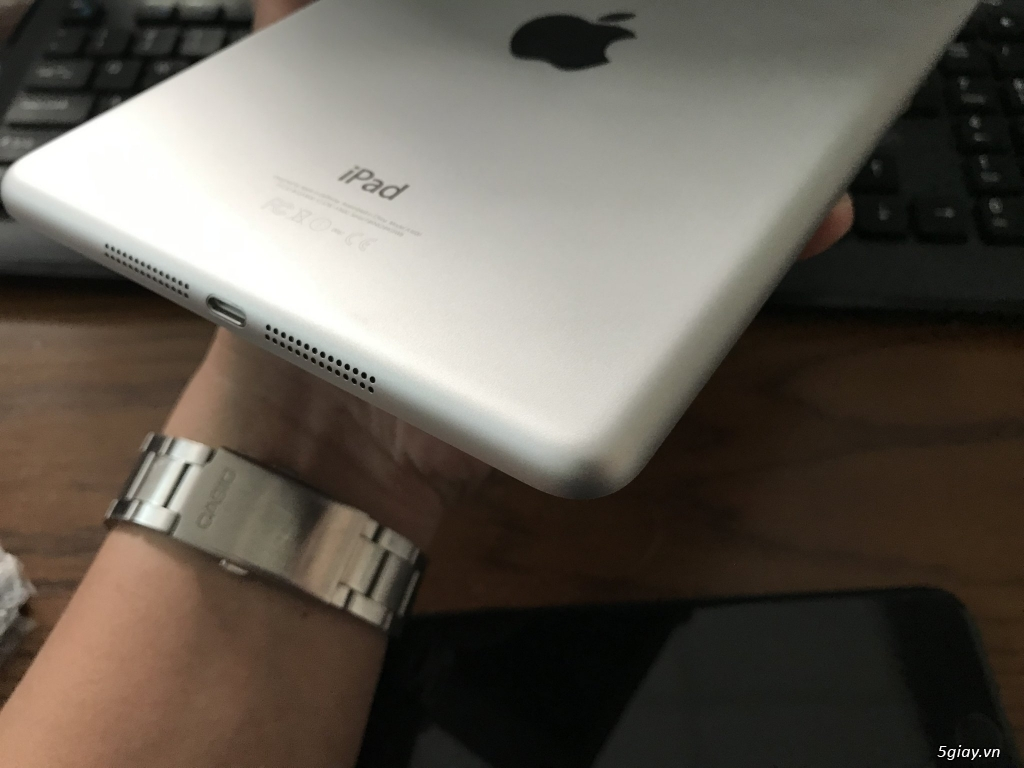 Ipad mini 2-3-4 16G bản wifi + 4G đẹp 99% bao zin chưa bung Fulloption - 8