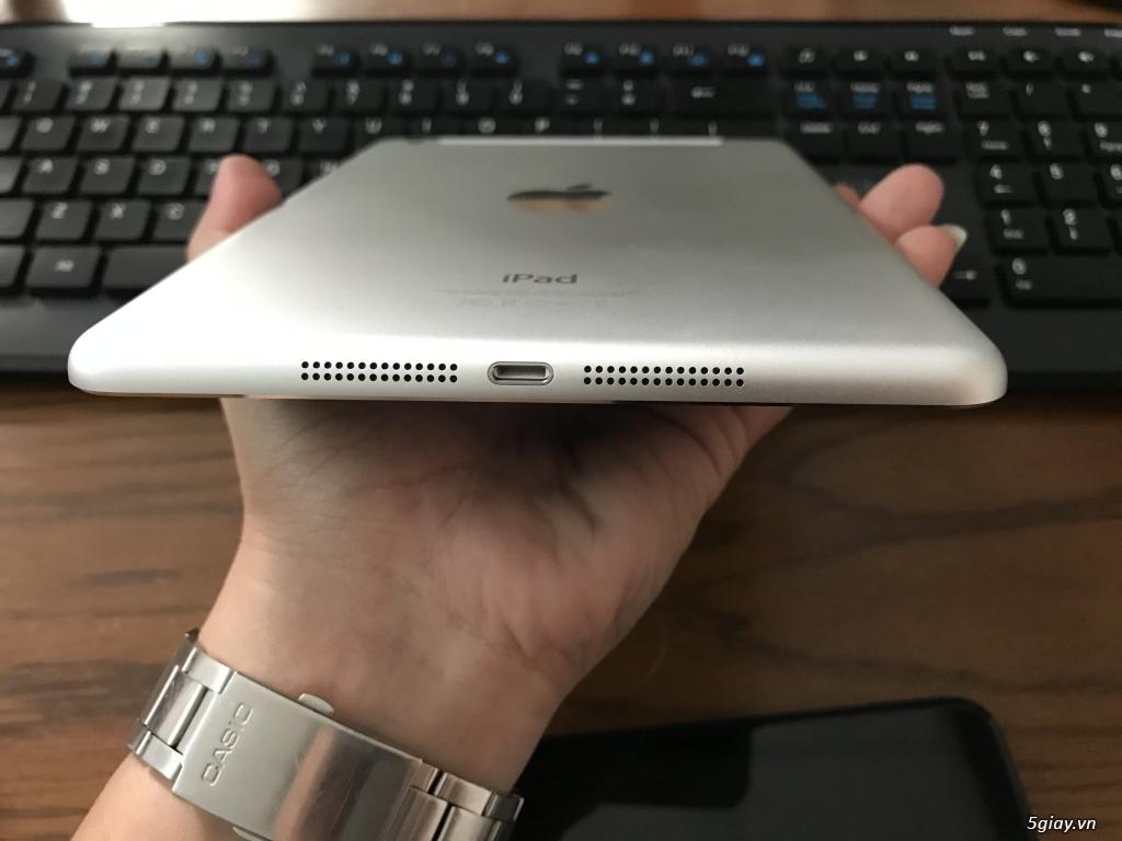 Ipad mini 2-3-4 16G bản wifi + 4G đẹp 99% bao zin chưa bung Fulloption - 9