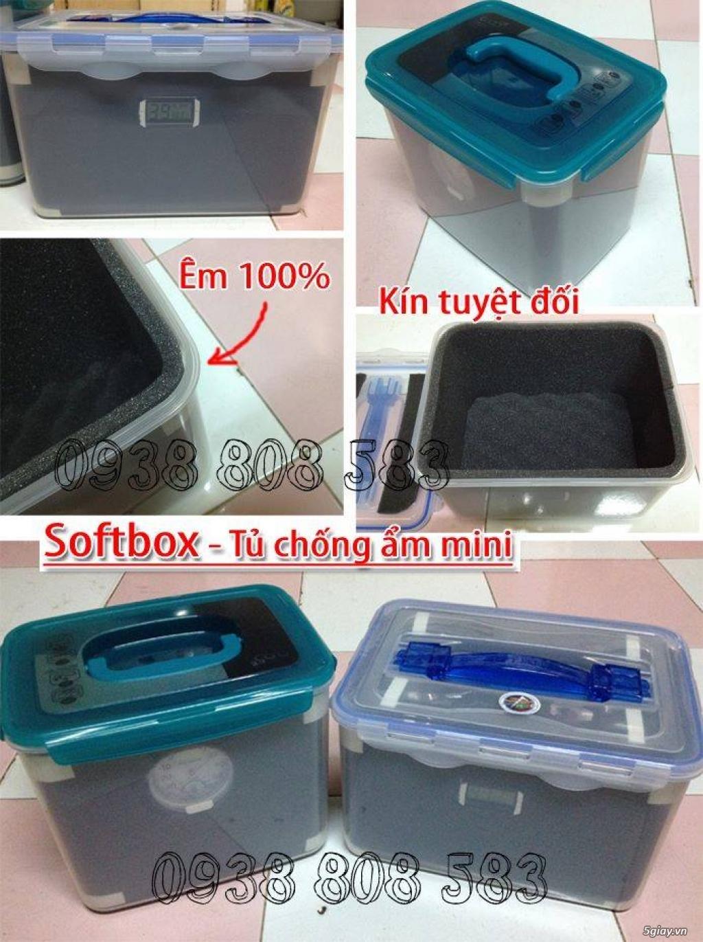 [mshopcamera] hộp chống ẩm, hạt hút ẩm (xanh, trắng), ẩm kế cơ, điện tử, mút chống sốc - giá rẻ !!! - 15