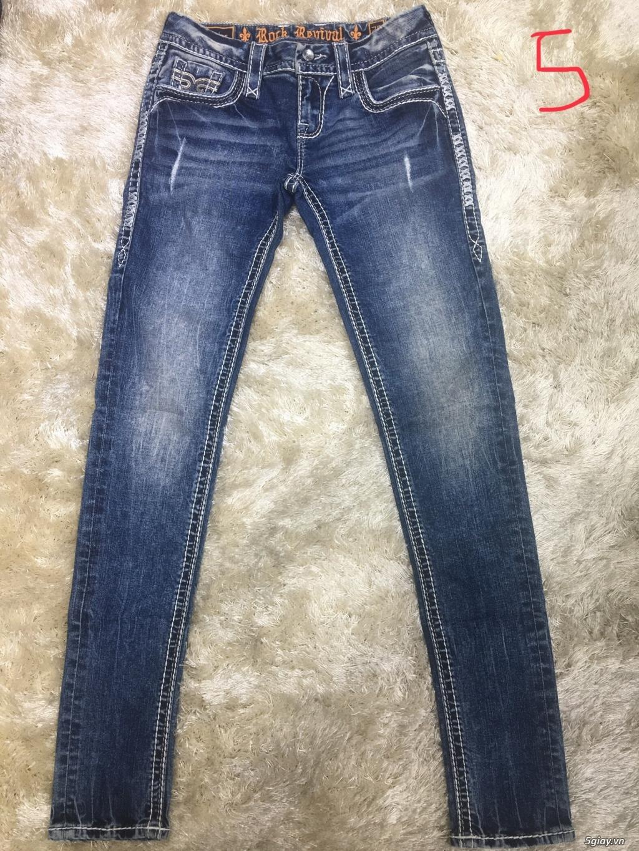 Quần jeans ROCK REVIVAL xuất dư xịn chính hãng - 1