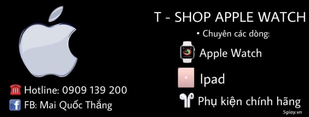 SALE 30/4 1/5 T-Shop Chuyên các loại Applewatch và Phụ kiện giá chỉ từ 6,5tr Series3,4 thép nhôm