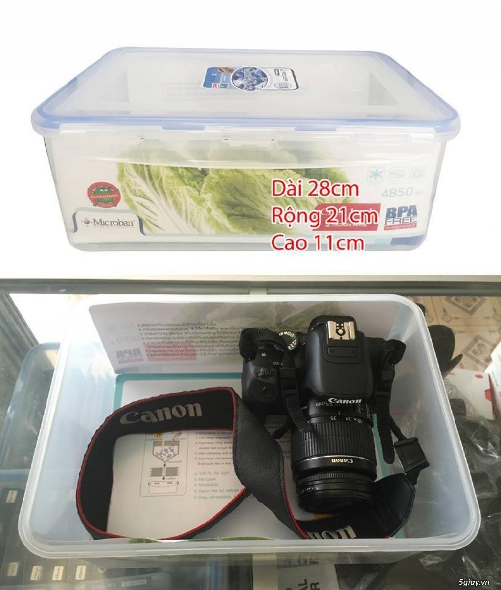 [mshopcamera] hộp chống ẩm, hạt hút ẩm (xanh, trắng), ẩm kế cơ, điện tử, mút chống sốc - giá rẻ !!! - 8