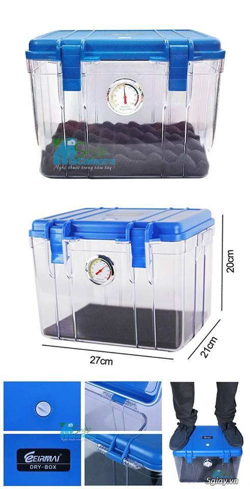 [mshopcamera] hộp chống ẩm, hạt hút ẩm (xanh, trắng), ẩm kế cơ, điện tử, mút chống sốc - giá rẻ !!! - 12