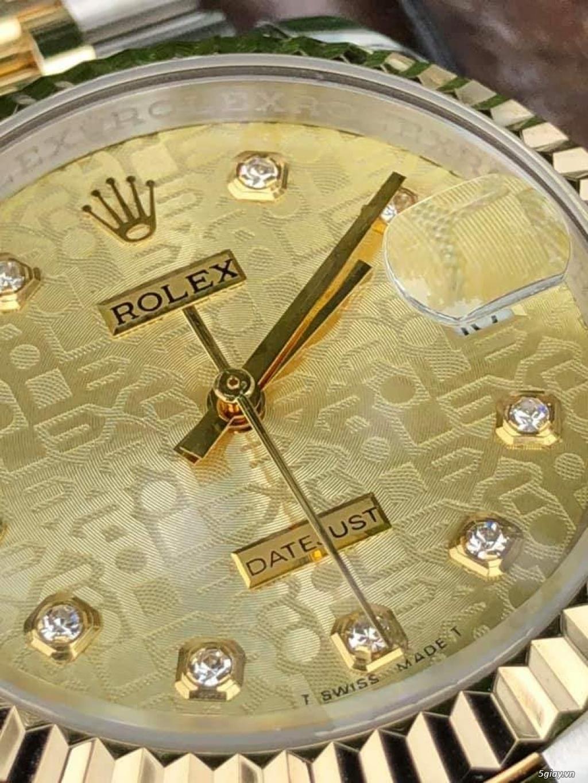 Chuyên Rolex bọc vàng 18k,độ máy chính hãng,kim cương - 33