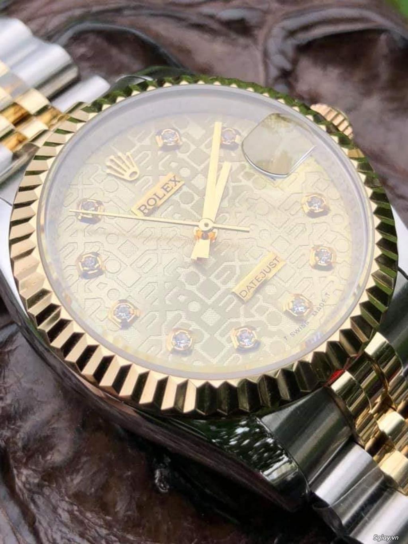 Chuyên Rolex bọc vàng 18k,độ máy chính hãng,kim cương - 31