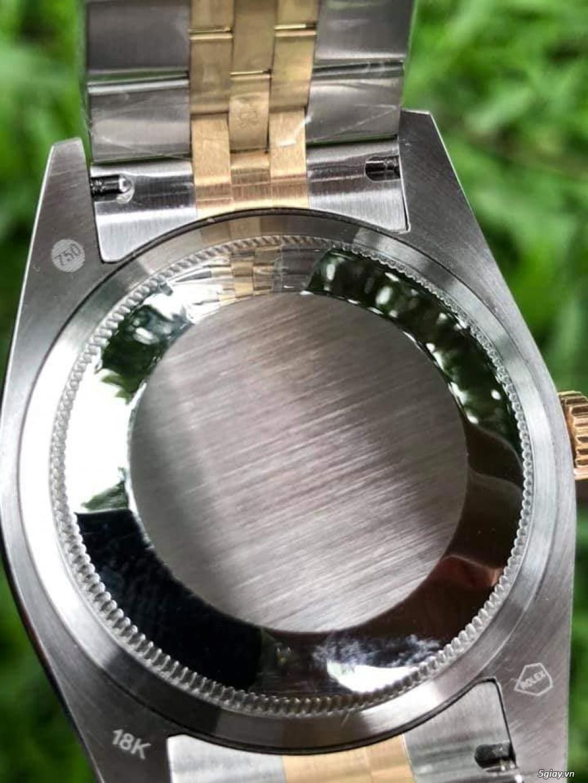 Chuyên Rolex bọc vàng 18k,độ máy chính hãng,kim cương - 34
