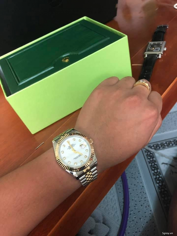 Chuyên Rolex bọc vàng 18k,độ máy chính hãng,kim cương - 27