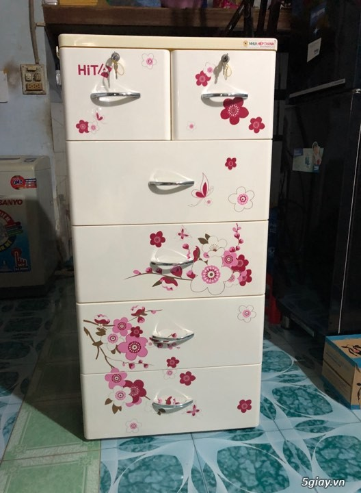 Bán Tủ Nhựa HITA 5 Tầng Cho Bé - 4