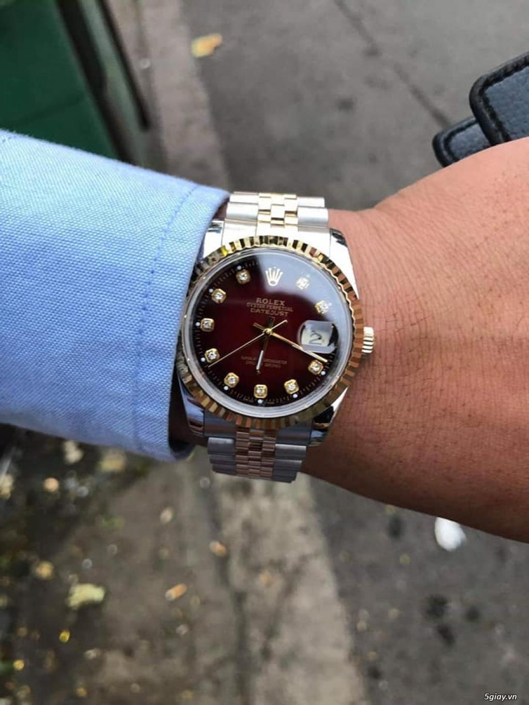 Chuyên Rolex bọc vàng 18k,độ máy chính hãng,kim cương - 39
