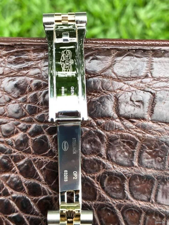 Chuyên Rolex bọc vàng 18k,độ máy chính hãng,kim cương - 38