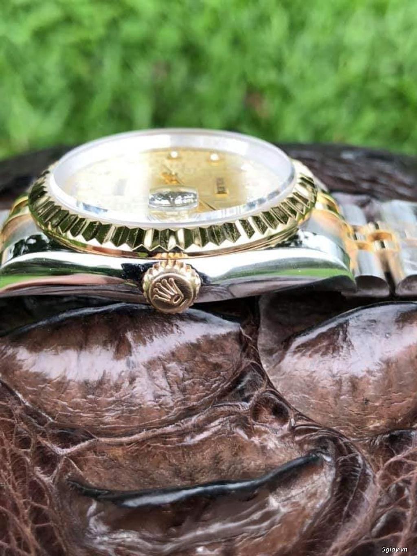 Chuyên Rolex bọc vàng 18k,độ máy chính hãng,kim cương - 36
