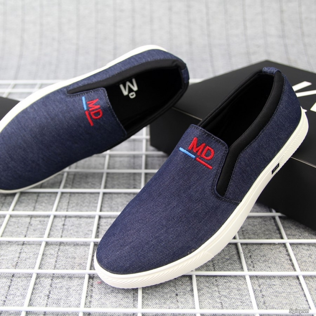 Giày Lười Vải Nam G363 Sỉ - 5