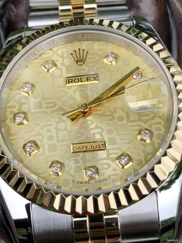 Chuyên Rolex bọc vàng 18k,độ máy chính hãng,kim cương - 32