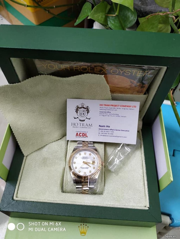 Chuyên Rolex bọc vàng 18k,độ máy chính hãng,kim cương - 28