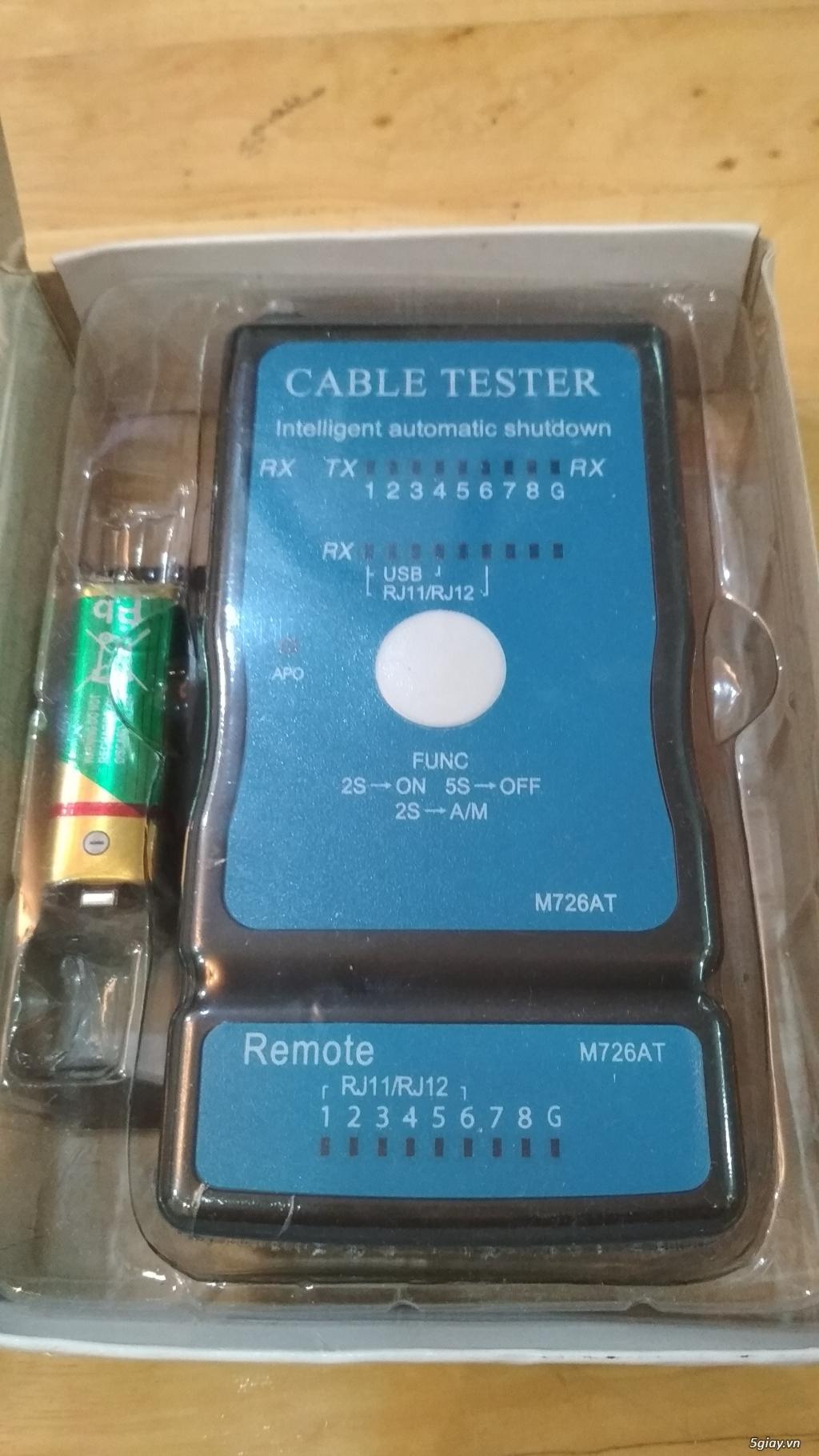 TB mạng:buffalo,CAT6,CAT7,test mạng,kềm tuốt,usb to VGA,nối dài USB - 4