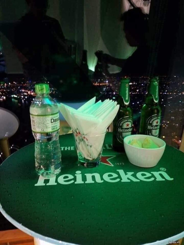 Đổi vé uống bia heneiken tại Bitexco- anh em có gì hay đổi cho mình giao lưu nha - 2