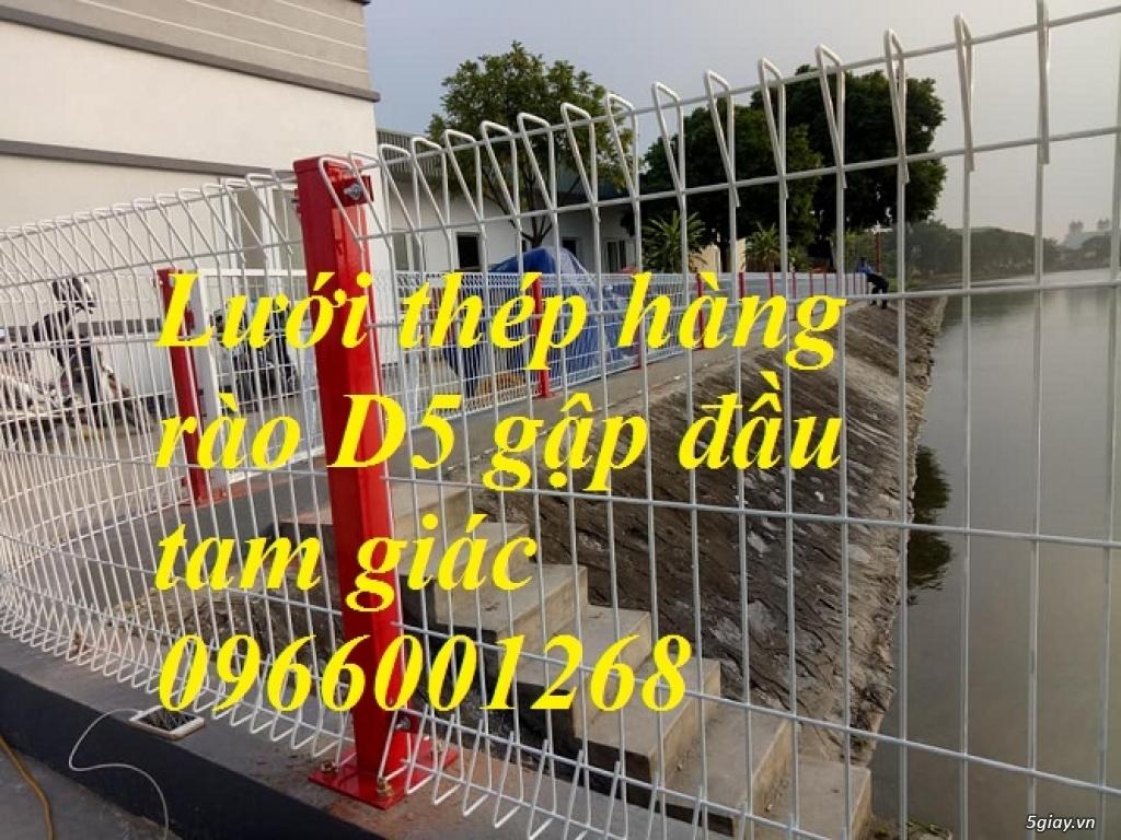 Lưới thép hàng rào D5 a50x200 hàng rào mạ kẽm ,sơn tĩnh điện giá rẻ - 2