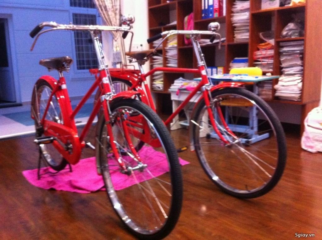 Bán xe đạp cổ Thư Báo của Nhật Zin, mới 100%