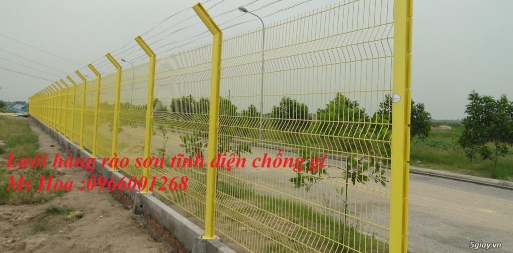 Lưới thép hàng rào D5 a50x200 hàng rào mạ kẽm ,sơn tĩnh điện giá rẻ - 6