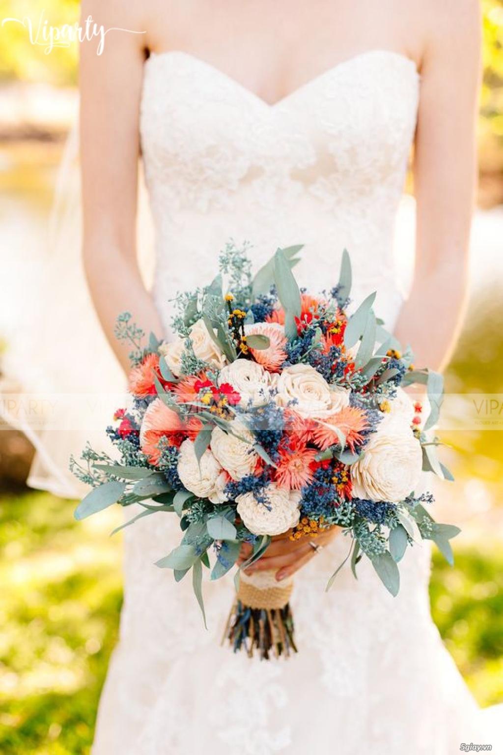 Chuyên cung cấp: Hoa cầm tay Cô Dâu & Hoa Sự Kiện : Wedding & Events - 33