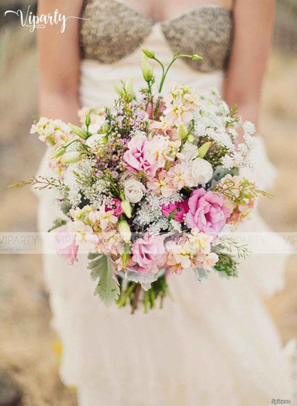Chuyên cung cấp: Hoa cầm tay Cô Dâu & Hoa Sự Kiện : Wedding & Events - 31