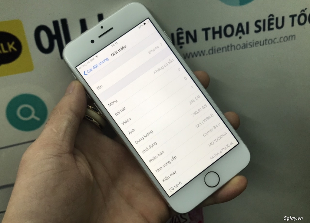 iPhone 8/ 8 Plus 256GB Like New, Nguyên Zin Hàn Quốc - 3
