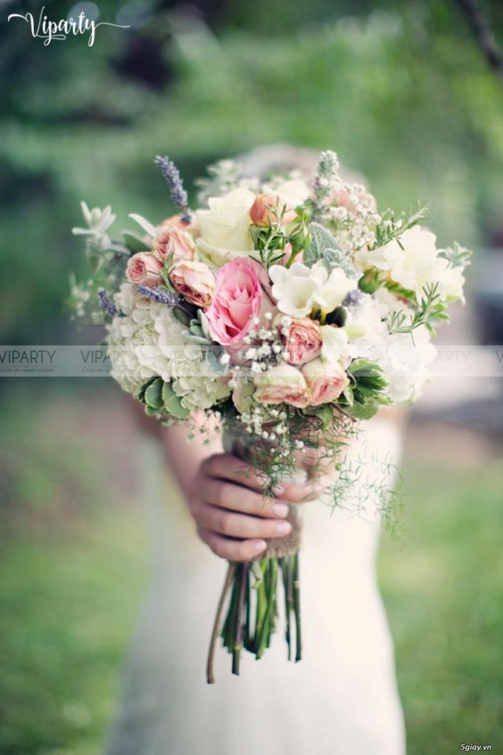 Chuyên cung cấp: Hoa cầm tay Cô Dâu & Hoa Sự Kiện : Wedding & Events - 8