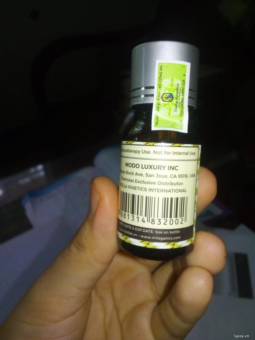 Combo 2 chai tinh dầu Milaganics 10ml nhập khẩu Mỹ - 1