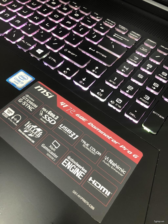 MSI GT70 6QE Dominator Pro G i7/16G/128G/1T/GTX980M - TP Hồ Chí Minh