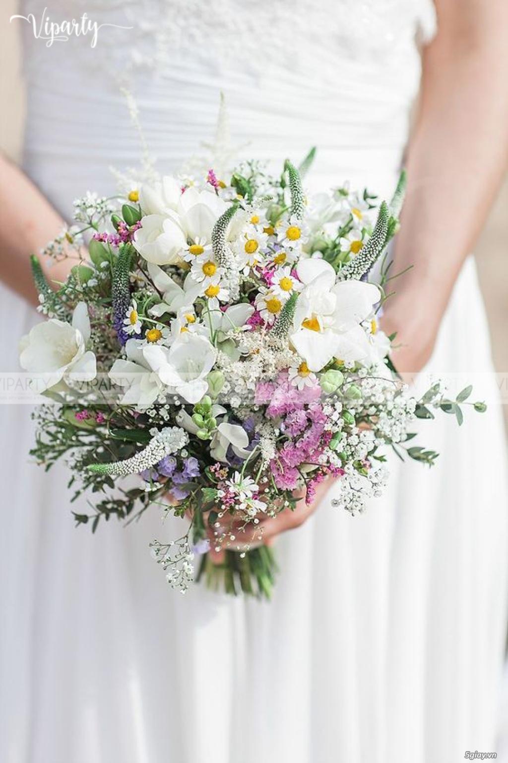 Chuyên cung cấp: Hoa cầm tay Cô Dâu & Hoa Sự Kiện : Wedding & Events - 4