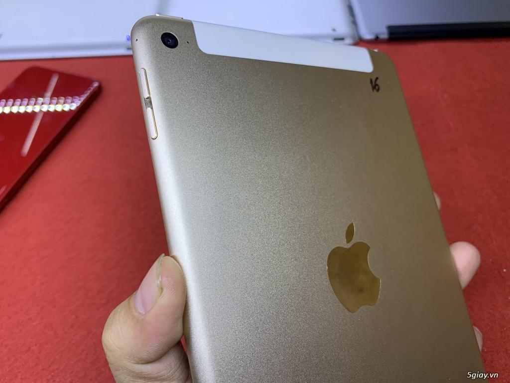 Ipad mini 2-3-4 16G bản wifi + 4G đẹp 99% bao zin chưa bung Fulloption - 16