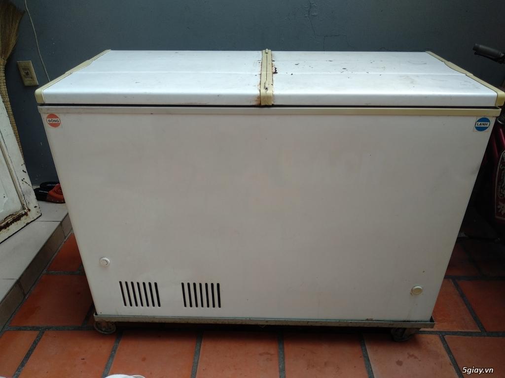 Bán tủ đông 500 lít cũ hiệu Darling