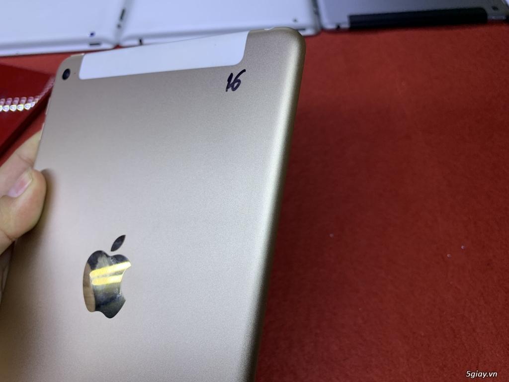 Ipad mini 2-3-4 16G bản wifi + 4G đẹp 99% bao zin chưa bung Fulloption - 18