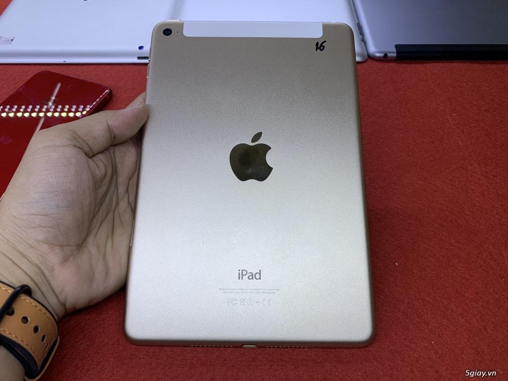 Ipad mini 2-3-4 16G bản wifi + 4G đẹp 99% bao zin chưa bung Fulloption - 17