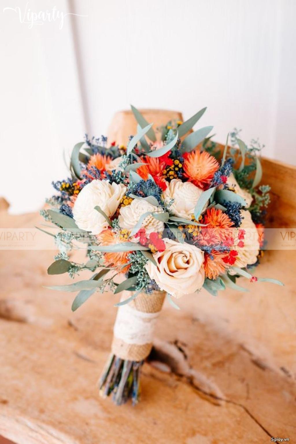 Chuyên cung cấp: Hoa cầm tay Cô Dâu & Hoa Sự Kiện : Wedding & Events - 32