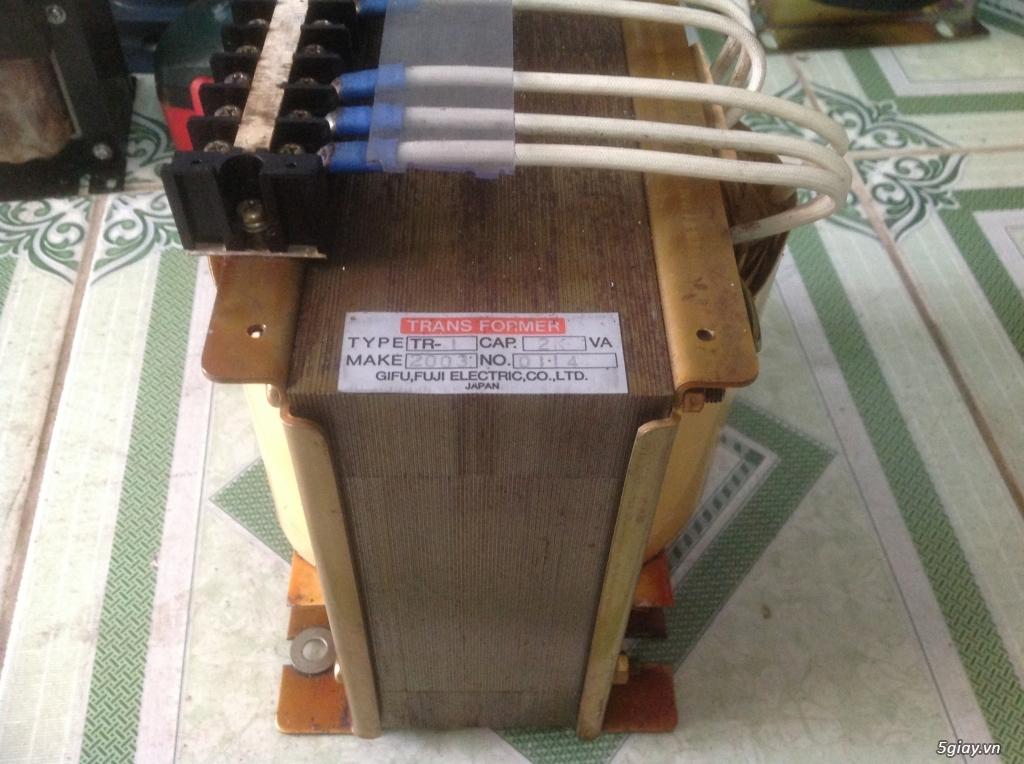 Biến áp cách ly Nhật 500VA -10KVA, lọc nguồn âm thanh..... - 4
