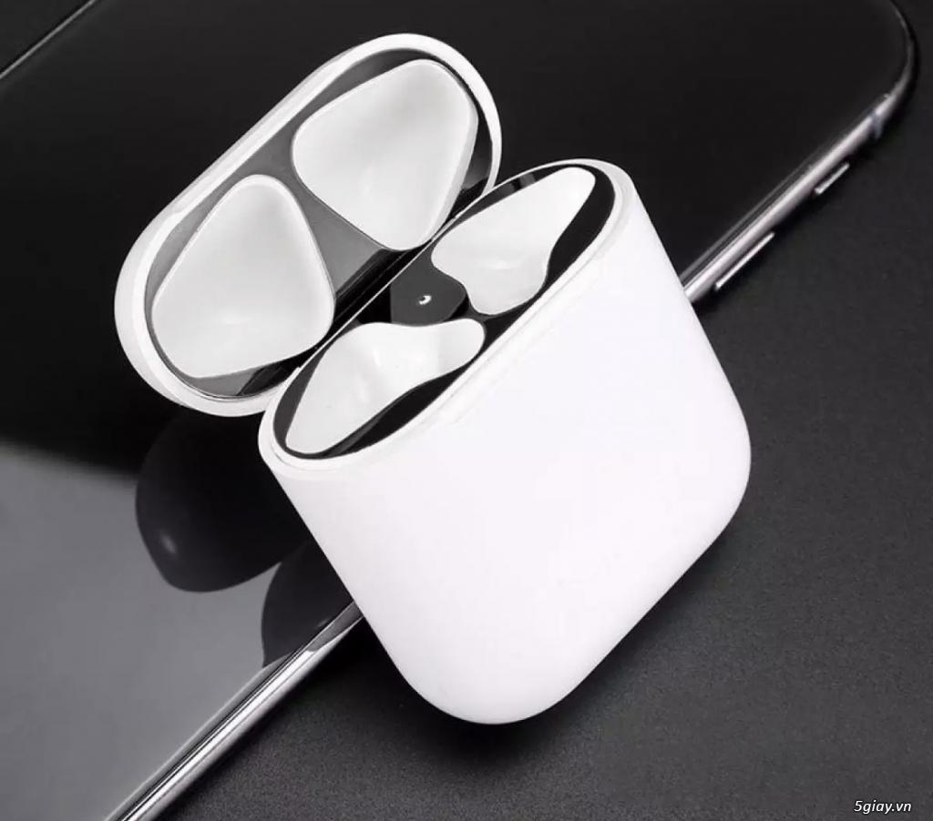 Case ốp Airpods, đồ chơi dán skin Airpods. - 1