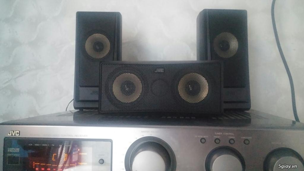 âm li JVC 380w cực khủng. nghe nhạc, xem fim, karaoke deu hay. giá rẻ - 3