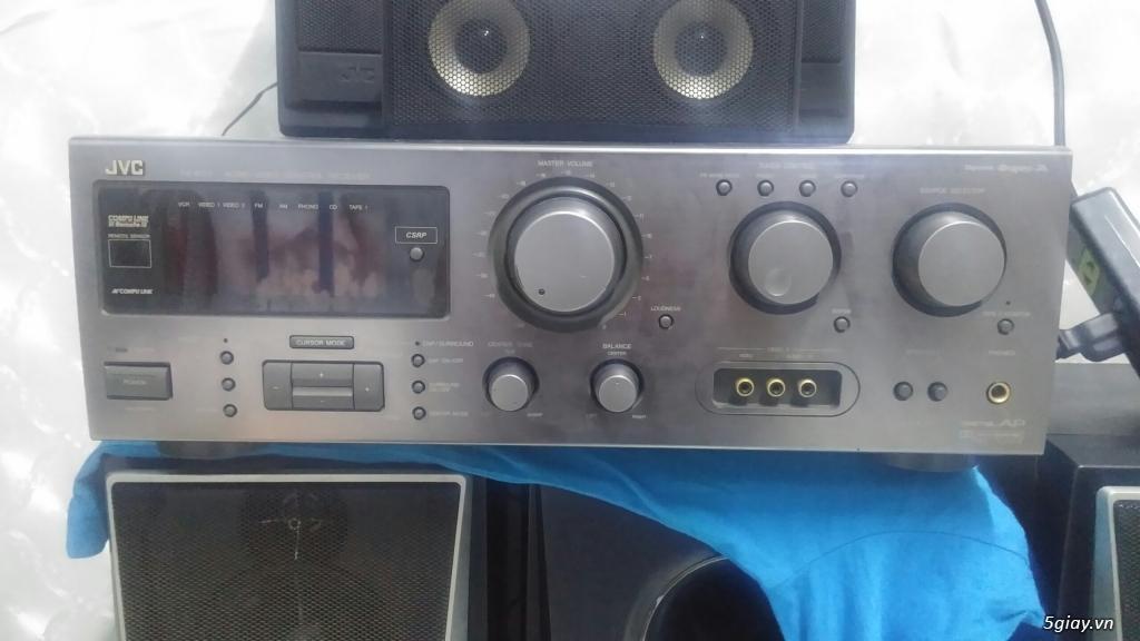 âm li JVC 380w cực khủng. nghe nhạc, xem fim, karaoke deu hay. giá rẻ
